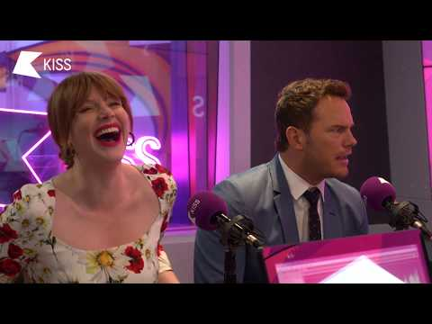 Bryce Dallas Howard & Chris Pratt talk Jurassic World and Training like The Rock! 🌋 | KISS Breakfast