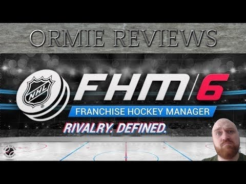 Franchise Hockey Manager 6 - First Look And Review