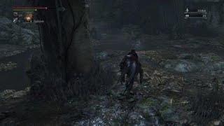 Bloodborne - Shadow of Yharnam Fight with boss glitch