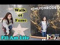 Filipina in Texas | HOLLYWOOD WALK OF FAME & RODEO DRIVE | Vlog#25