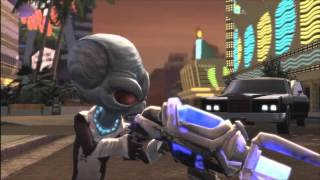 Destroy All Humans! Path of the Furon Walkthrough Part 1