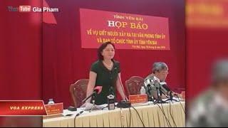 Hai lãnh đạo cấp cao tỉnh Yên Bái bị bắn chết