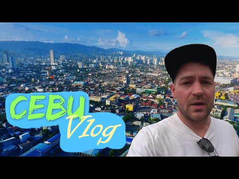 Cebu Vlog, walking from IT Park to Carbon Market. RAT ALERT!!!