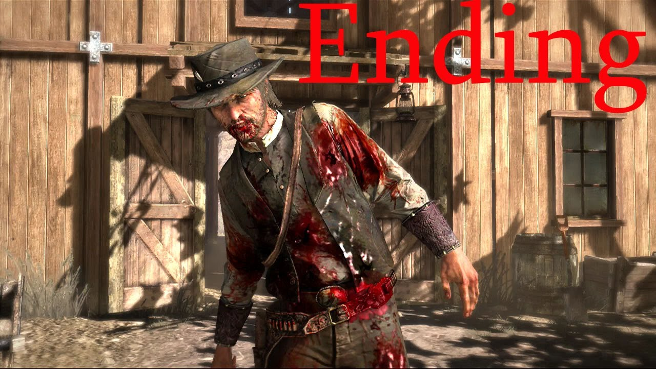 Red Dead Redemption ENDING (John Marston's death HD-Red Dead Redemption #RDR #Ending)