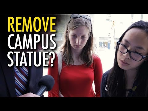 Would Millennials replace Ryerson statue with naked Trump?