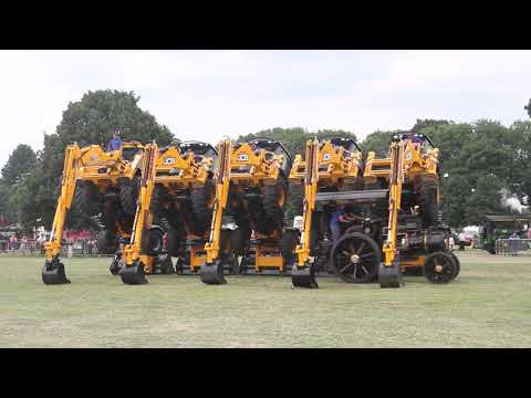 JCB Tractor Dancing - J C Balls