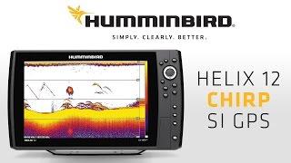 видео Humminbird helix 12x chirp si gps