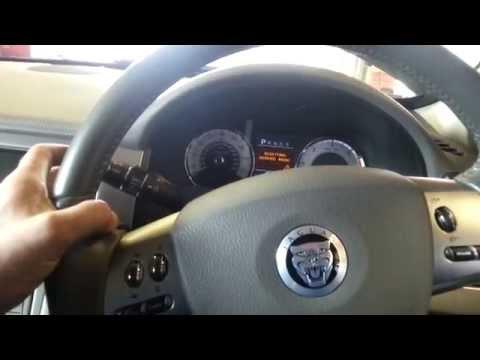 Jaguar xf service reset procedure