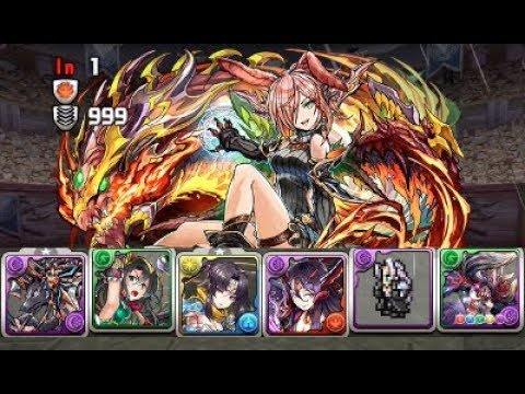 [Puzzle and Dragons] One-Shot Challenge! 20 - Five Color Dragon Callers (Anubis/Diablos)