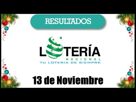 Lotería Nacional Resultados De Hoy 13 De Noviembre En República Dominicana