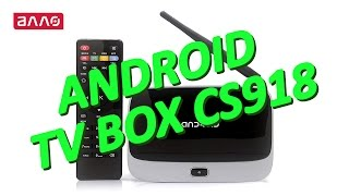 Видео-обзор HD-медиаплеера Android TV Box CS918