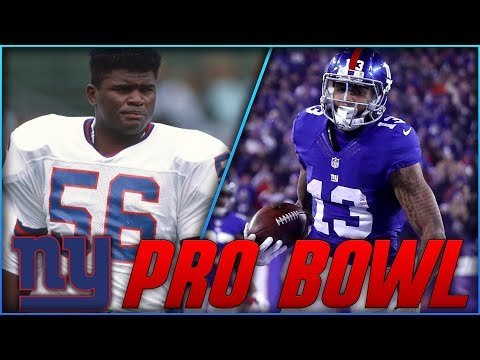 Every New York Giants Pro Bowler Since 1990