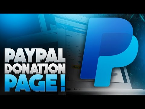 How To Make A Donation Page With PayPal! (2016)