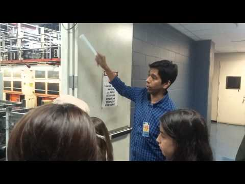 Tour of the Austin American-Statesman Printing Press