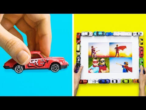 15 WAYS TO TURN YOUR OLD TOYS INTO SOMETHING COOL