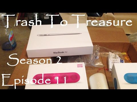 Trash To Treasure Season 2 Episode 11 - Dumpster Diving Web Series - Found Ikea Stuff & More