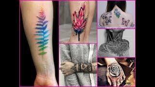 Zapętlaj 50+ Creative Tattoo Ideas 2018  - Inspiring Tattoo Designs for Women | Stasia Alia