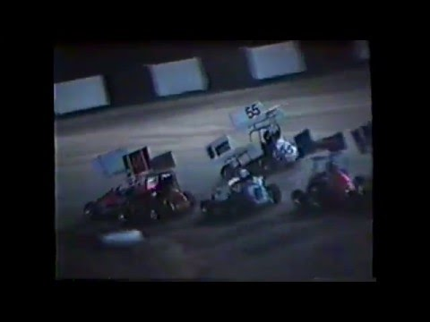1990 KAM Raceway Centrals (Just Tommy) (Wreck)