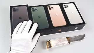 Apple iPhone 11 Pro (Max) Unboxing - Fortnite Battle Royale, Minecraft, PUBG Gameplay
