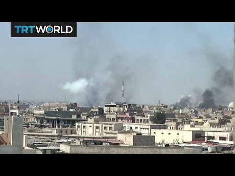 The Fight For Mosul: Military offensive resumes after one day pause