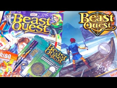 Beast Quest Magazine Launching This Week and iOS / Android Game Sneak Peek