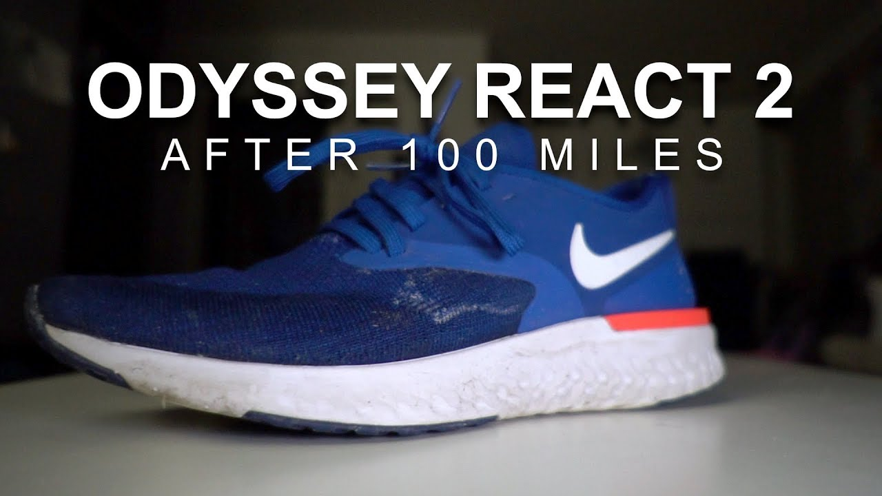 7f11e933ed7d Nike Odyssey React Flyknit 2 - After 100 Miles - YouTube