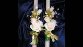 Венчальные свечи Свечной Мир производитель