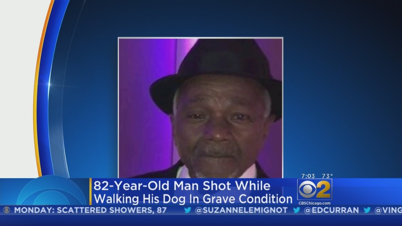 Elderly Man Fights For Life After Shooting