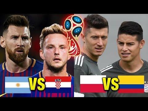 Los Jugadores que enfrentarán a sus compañeros de club en el Mundial 2018