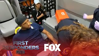 Gunshot Victim Rushes Ambulance | Season 1 Ep. 4 | FIRST RESPONDERS LIVE