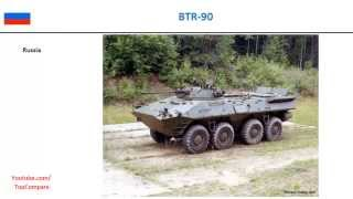 BTR-90, 8x8 personnel carriers specifications