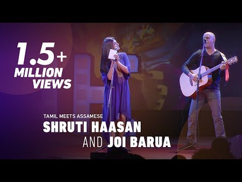 Shruti Haasan and Joi Barua: Tamil meets Assamese