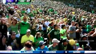 Oregon Highlights Vs Tennessee Tech 9/15/2012