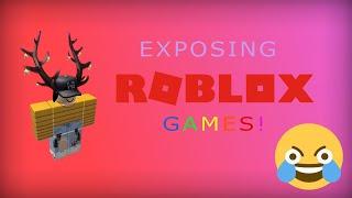 Exposing these ROBLOX games ( Ear rape warning )