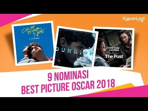 9 Film Nominasi Best Picture Oscar 2018