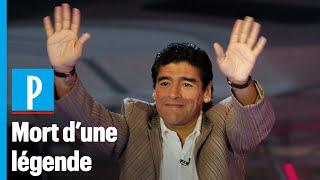 Mort de Maradona : l'ex-star du foot avait subi une opération du cerveau début novembre