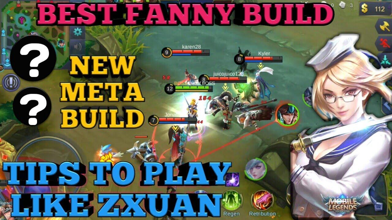 PLAY LIKE ZXUAN FANNY BEST BUILD FANNY BEST ITEM