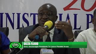 Delta Govt Encourages Residents To Leave Flooded Areas
