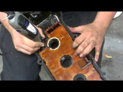 96 Sentra Spark Plug Tube Gasket Replacement GA16DE