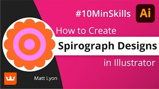 Illustrator tutorial: Create Spirograph designs with Distort & Transform