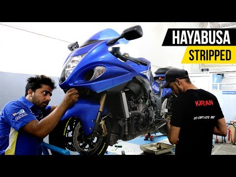 Suzuki Hayabusa Full Service | Step by Step Process!
