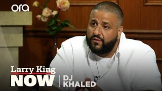 I Have To Promote Peace | DJ Khaled | Larry King Now - Ora TV