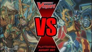 Zodiac Time Beast Vs Garmore - Cardfight Vanguard Playtesting August 2017