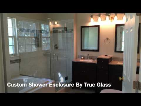 Custom Shower Enclosures By True Glass LLC - We serve Maryland, Washington DC and Virginia.