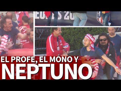 La fiesta de El 'Mono' Burgos y 'El Profe' Ortega en Neptuno: nunca los viste así | Diario AS
