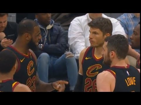 LeBron James Coaches Cavaliers Teammates After Tyronn Lue Leaves!