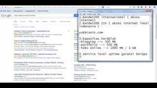 panduan memilih webhosting