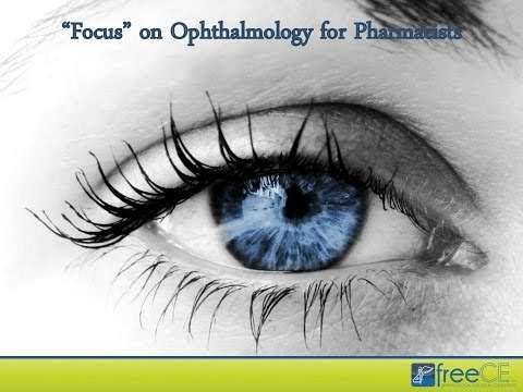 """Focus"" on Ophthalmology for Pharmacists"