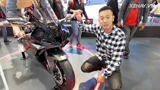 Khám phá Honda CBR1000RR-R Fireblade - 1.000cc 210hp mạnh hơn CR-V |XEHAY.VN|