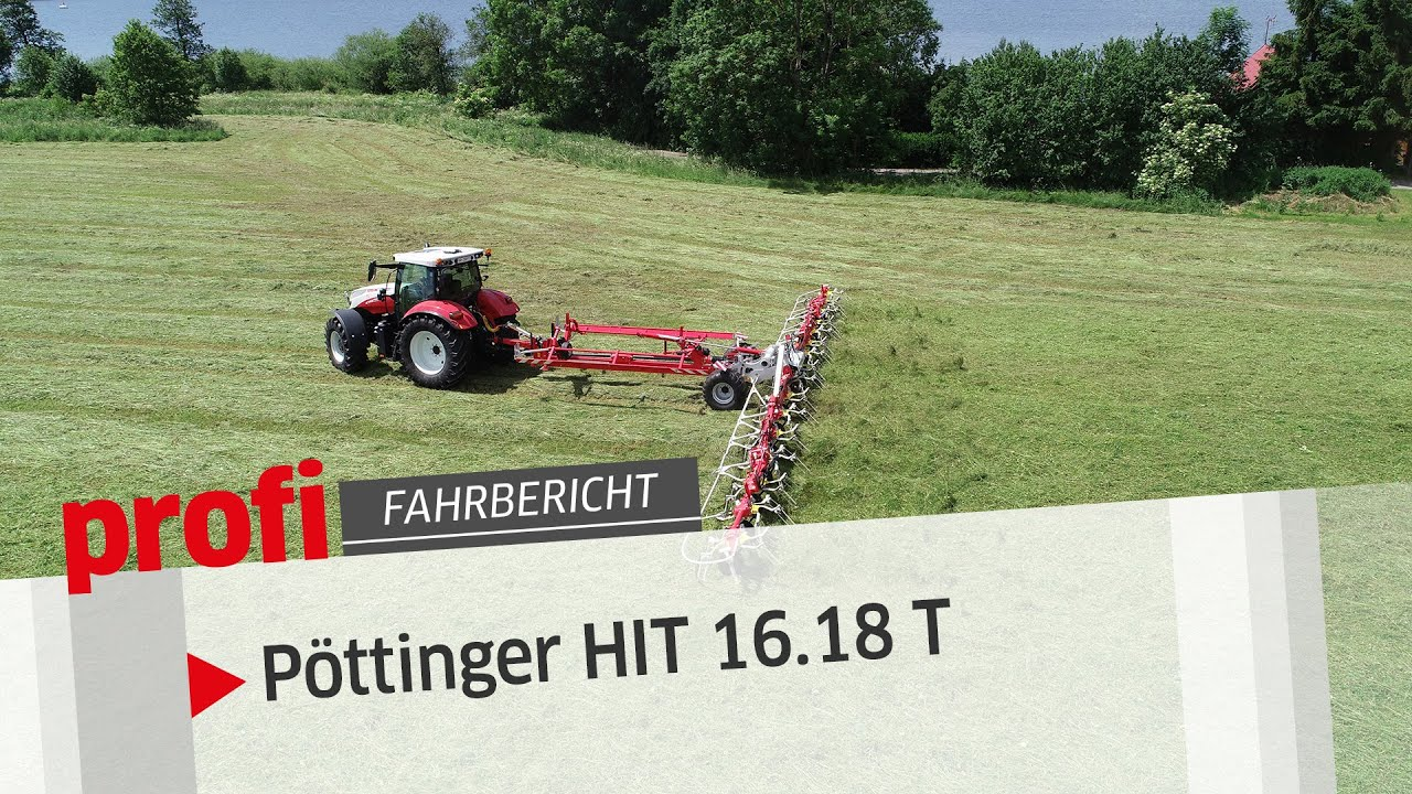 HIT-Parade: Pöttinger Wender HIT 16.18 T | profi #Fahrbericht